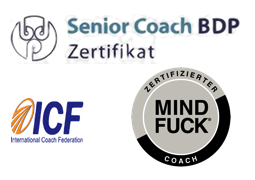 Mindfuck Senior Coach BDP ICF International Coach Federation logo